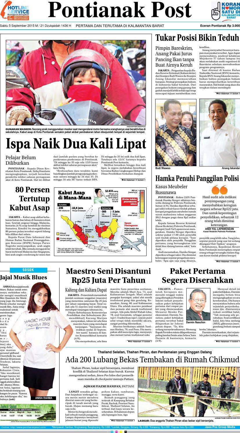 Pontianak Post Pertama Dan Terutama Di Kalimantan Barat By Probisnis Produk Ukm Bumn Kain Batik Middle Premium Sutera Issuu