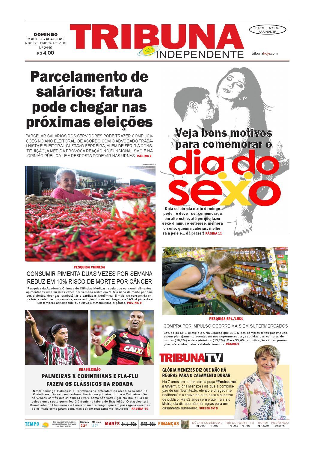 Edição número 2440 - 6 de setembro de 2015 by Tribuna Hoje - issuu d69ef60362
