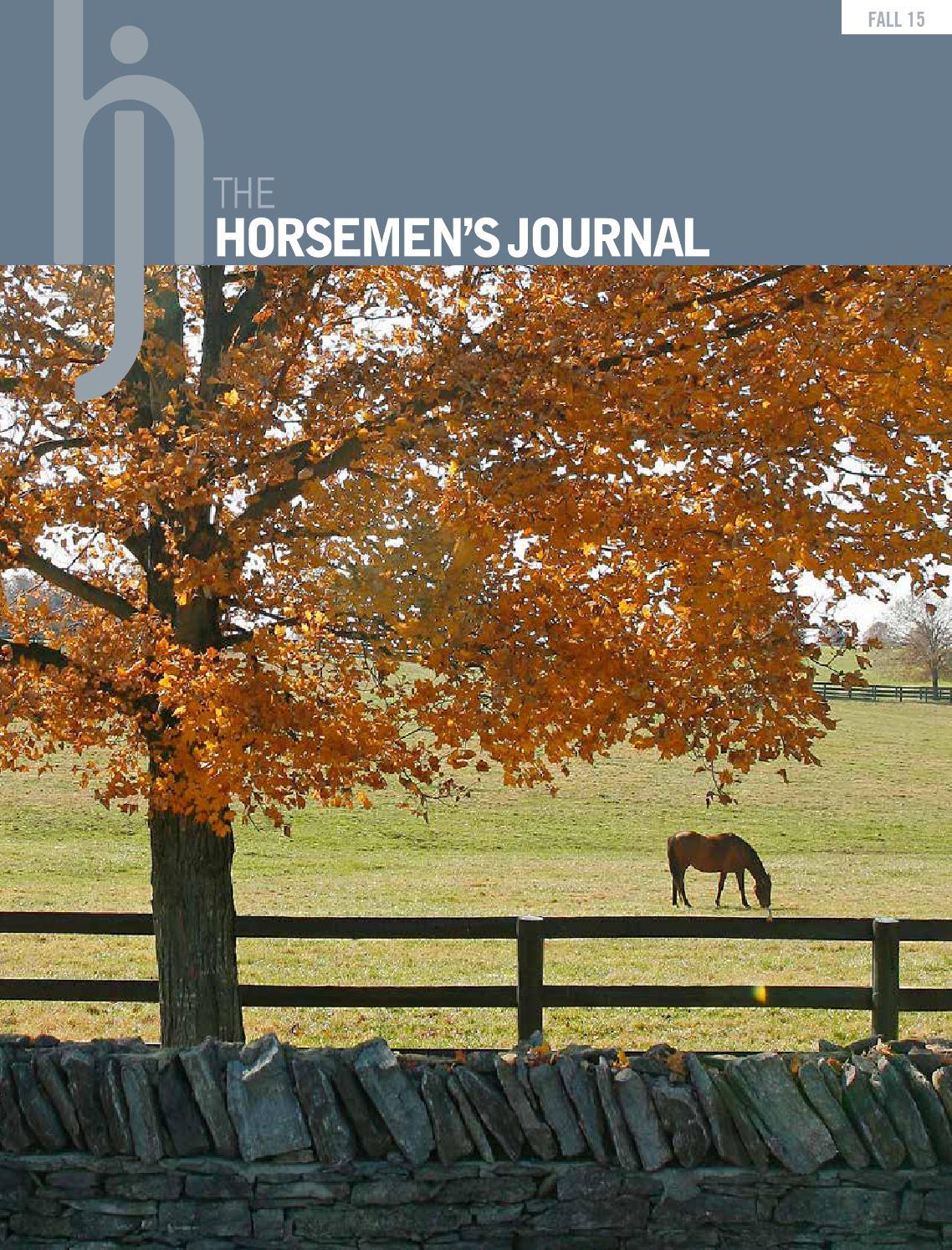 The Horsemen's Journal - Fall 2015 by The Horsemen's ...