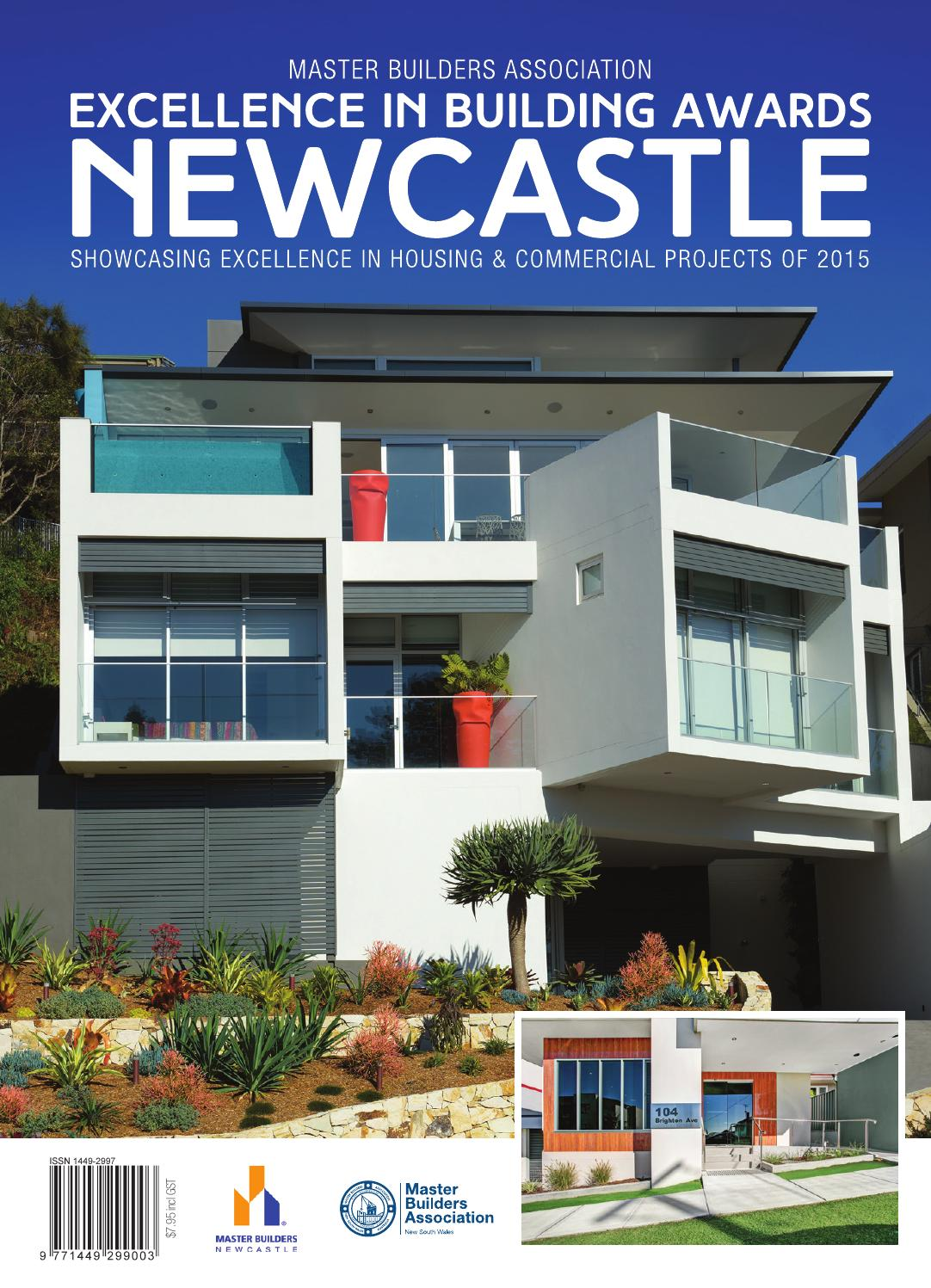 2015 Master Builders Newcastle Excellence In Building Awards By