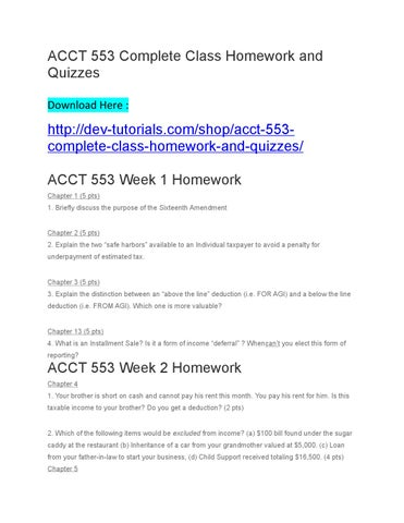 you decide acct 553 wk 4 Best resources for homework help: acct 553 course find acct 553 assignment, discussion questions, quiz and final exam for usa students.