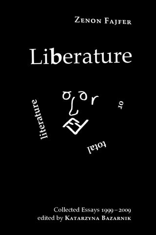 Zenon fajfer liberature or total literature collected essays 1999 page 1 fandeluxe Image collections