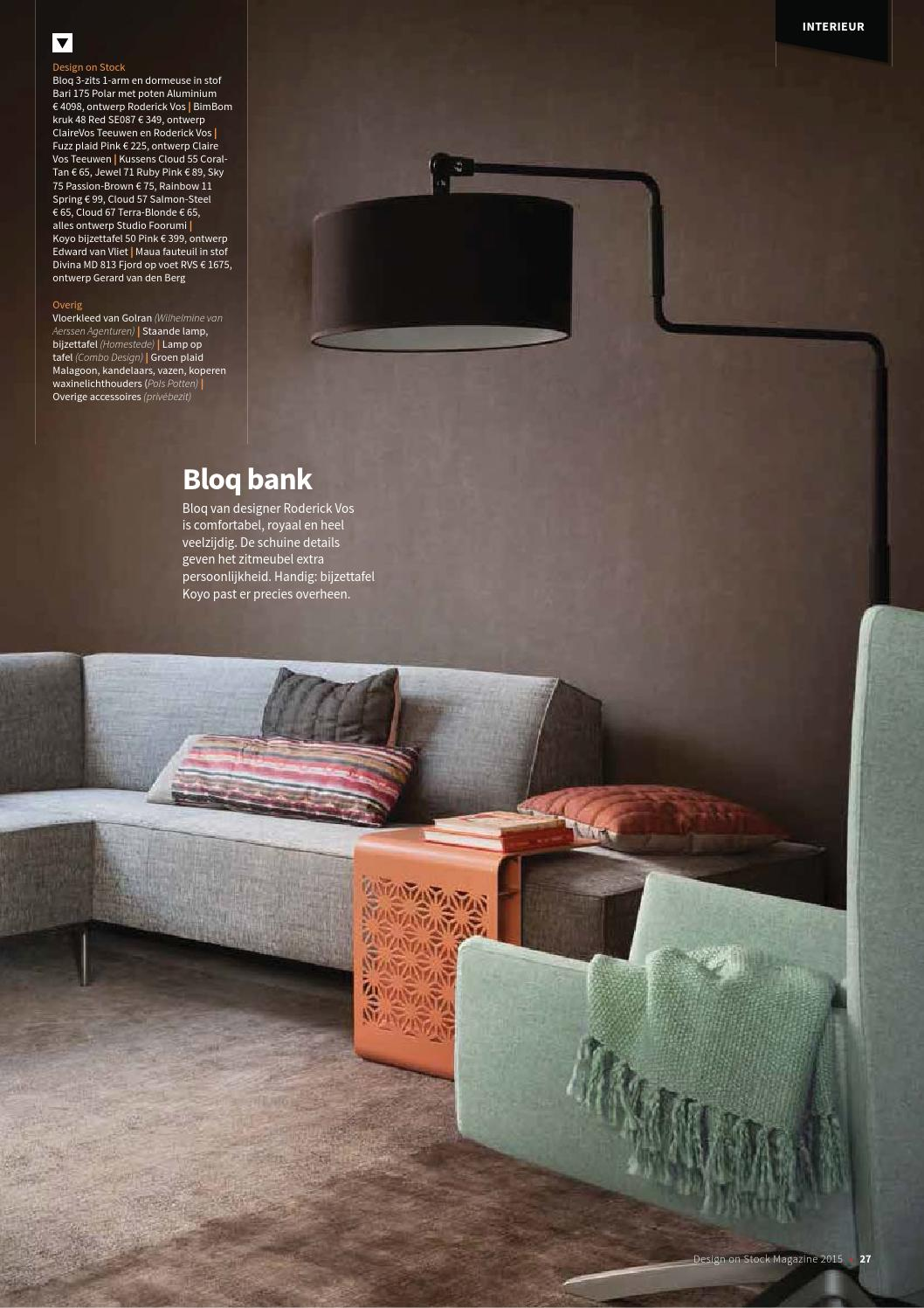 Design Bank Roderick Vos.Design On Stock Magazine No 16 By Home Center Issuu