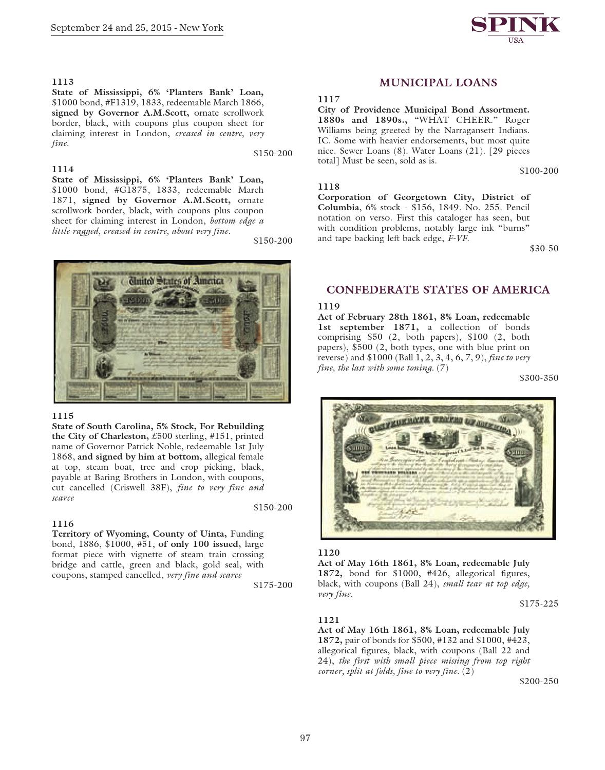 The Numismatic Collector's Series Sale - 322 by Spink and
