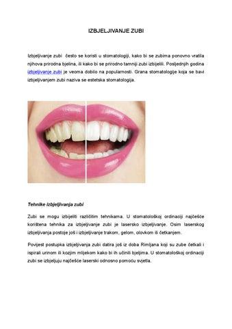 Zubi datiranje