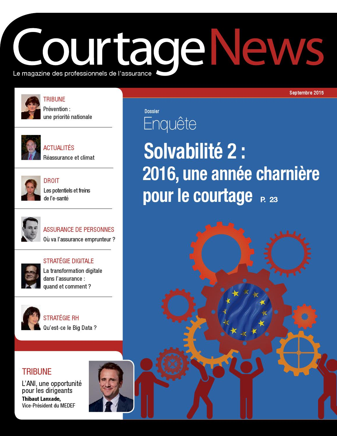 Courtage news 2015 by infopro digital issuu - Cabinet de courtage en assurance recrute ...