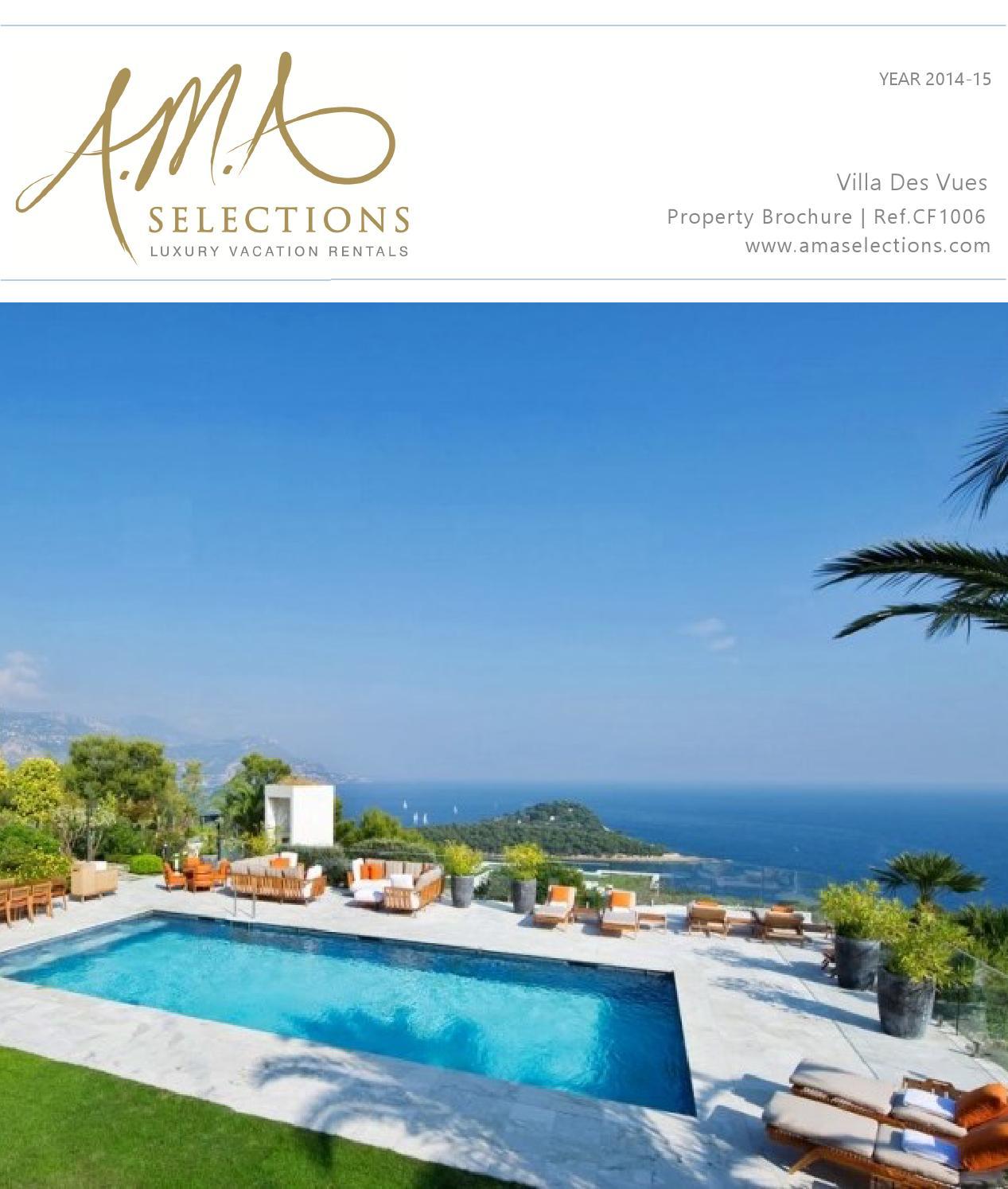 Villa Bellevue | Luxury 7 bedroom villa for rent in Saint