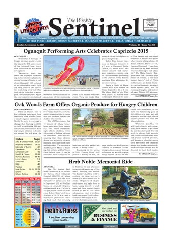 Ws Sept 4 2015 By Weekly Sentinel Issuu