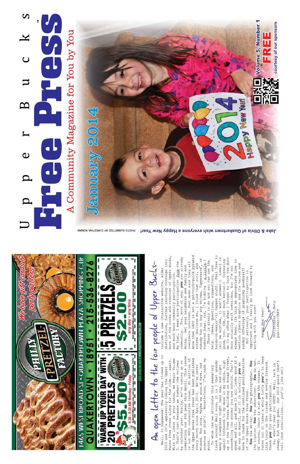 Upper Bucks Free Press • January 2014 by Upper Bucks Free Press - issuu fbfbe0b3fd05f