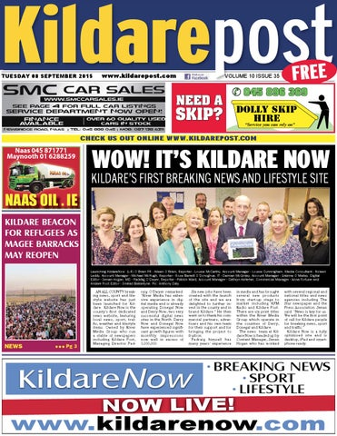 9a5a0724ec Kildare post 08 09 15 by River Media Newspapers - issuu