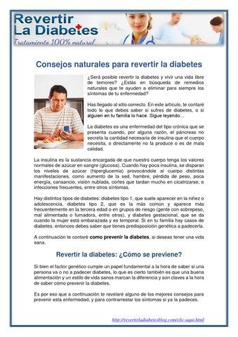 ¿puede la pérdida de peso revertir la diabetes tipo 1?