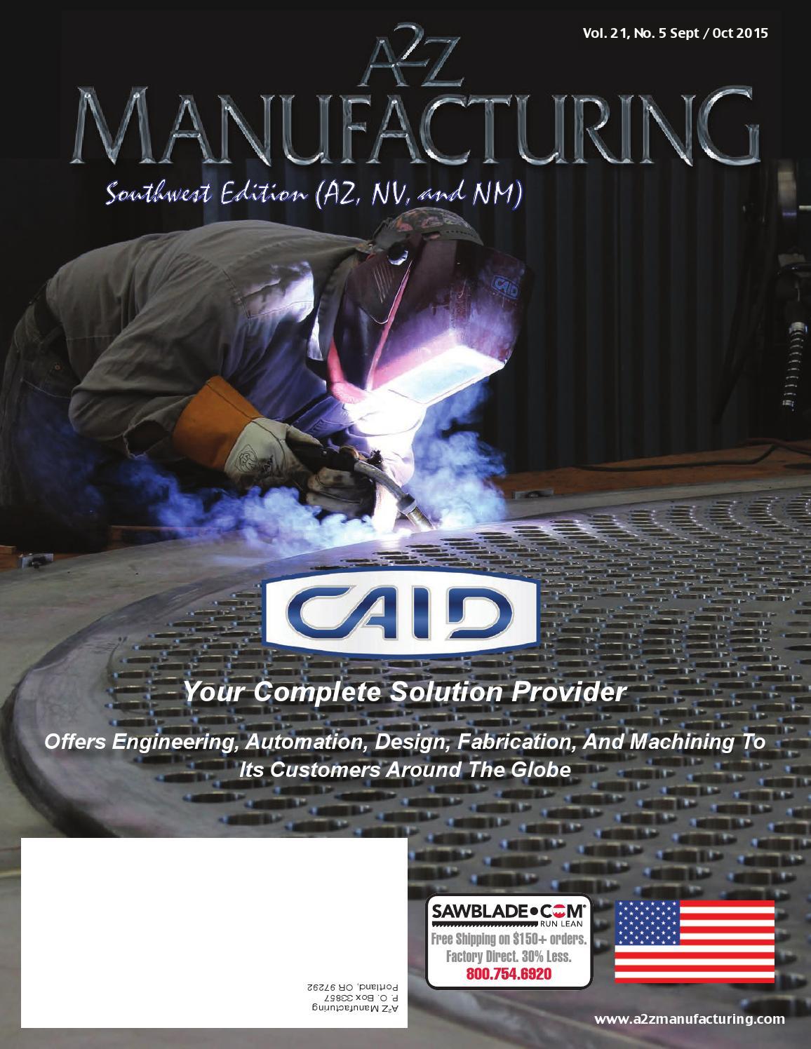 a2z mfg sept oct 2015 swa2z metalworker magazines - issuu