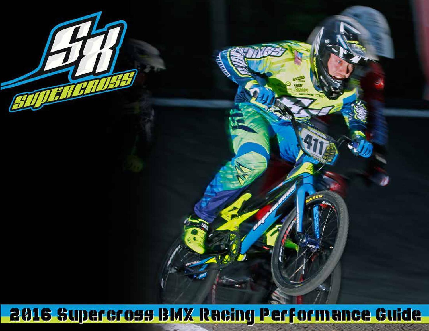 2016 supercross bmx catalog by Supercross BMX - issuu