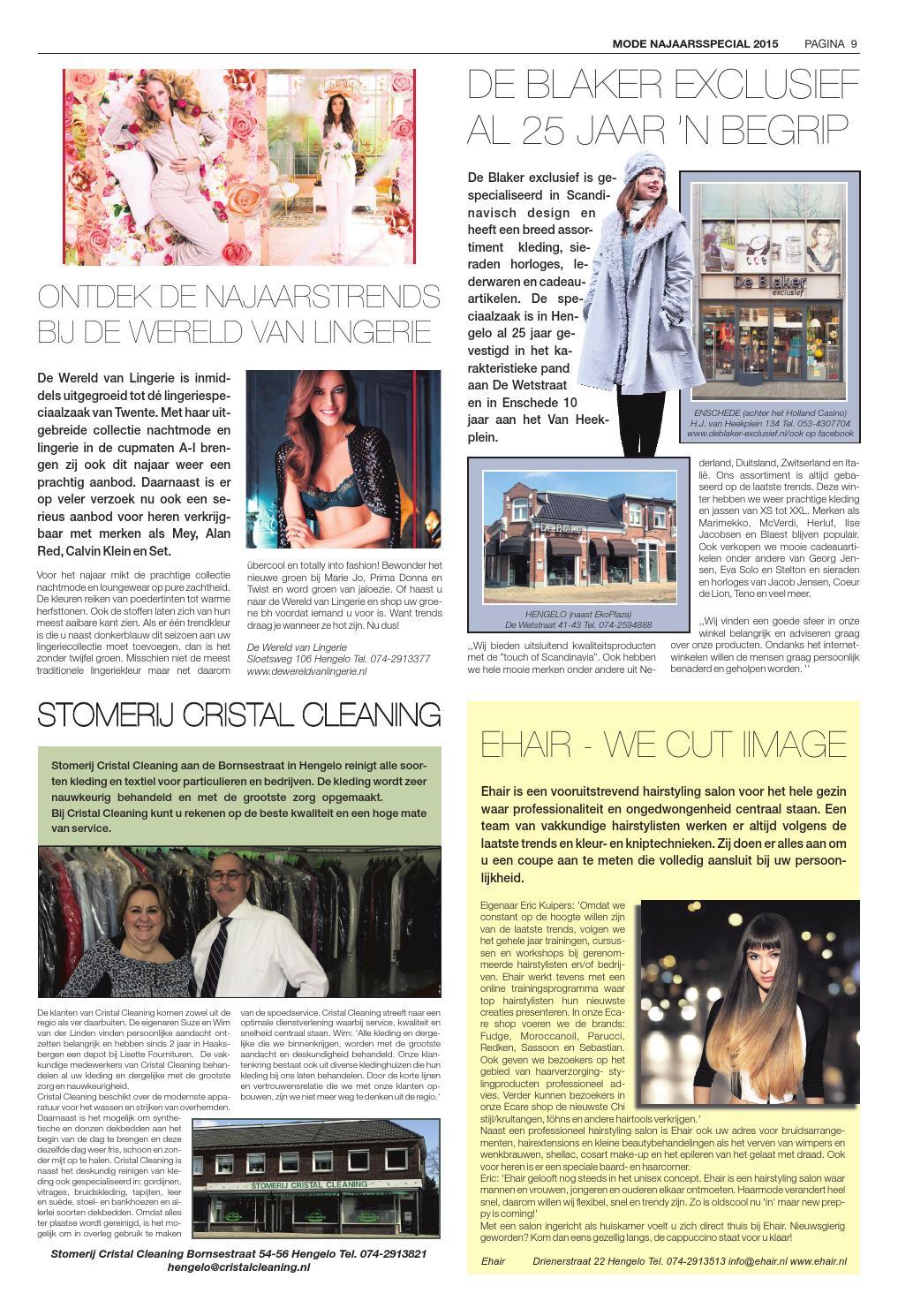 bd110525c93fed Hengelo s Weekblad week37 by Wegener - issuu