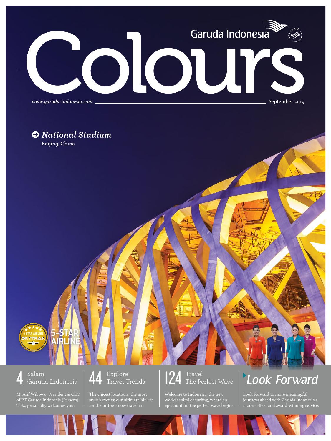 Colours Garuda Indonesia June 2015 by AGENCY FISH - issuu 99d4c45fdc
