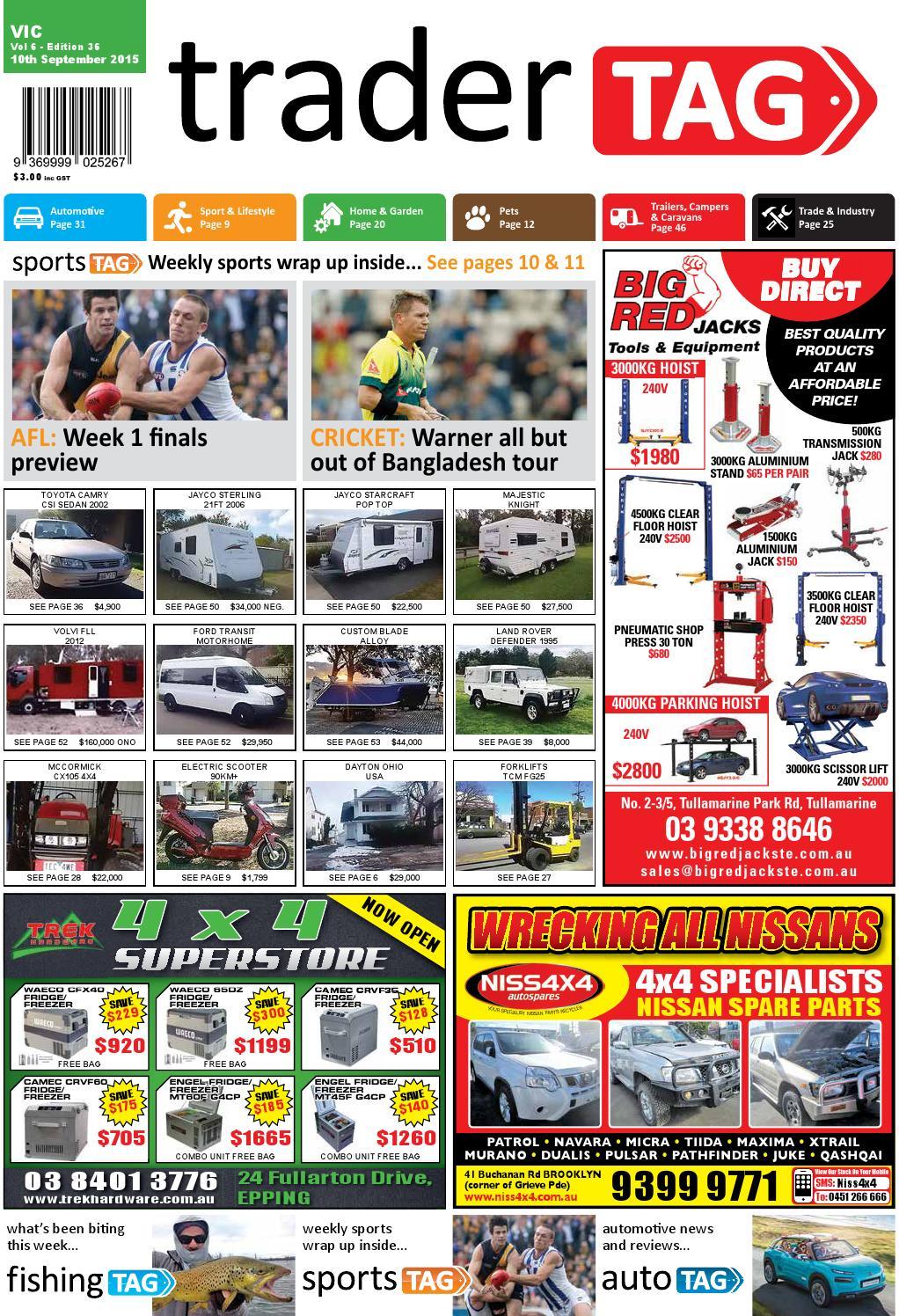 Tradertag Victoria Edition 36 2015 By Design Issuu Chain Timing Tensioner Gear For Mitsubishi Pajero Pickup Triton