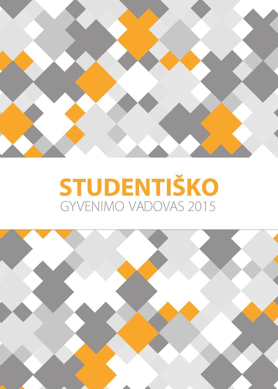 Studentiško gyvenimo vadovas 2015 by VU SA - issuu