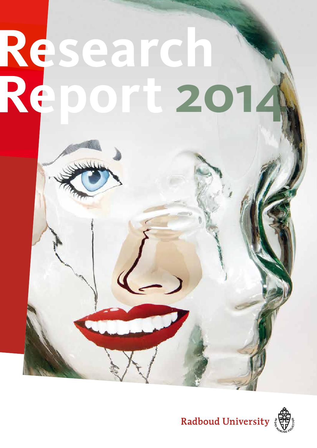 Radboud Research Report 2014 By Barbara Ioss Issuu