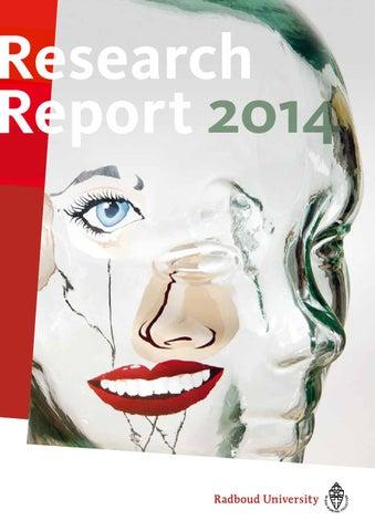 Radboud research report 2014 by Barbara IOSS - issuu
