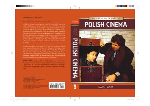 Polish Cinema By Earl Demott Issuu