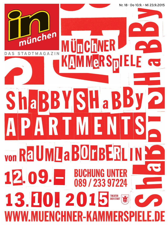 in münchen Ausgabe 18/2015 by InMagazin Verlags GmbH - issuu