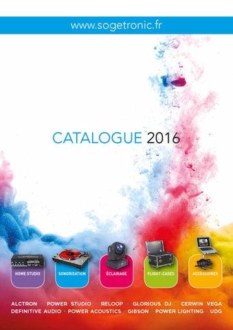 afb70af1aa02b1 Catalogue SOGETRONIC 2016 by Sogetronic - issuu