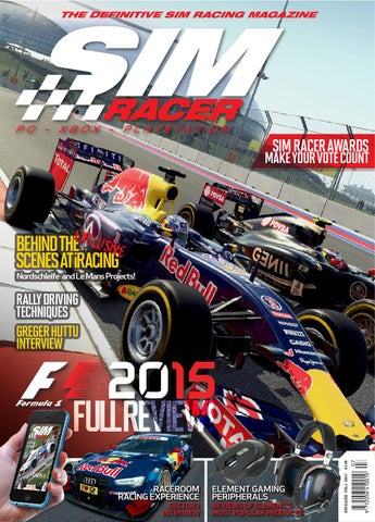 SIM Racer Volume 1 Issue 07 by Ebcon Publishing - issuu