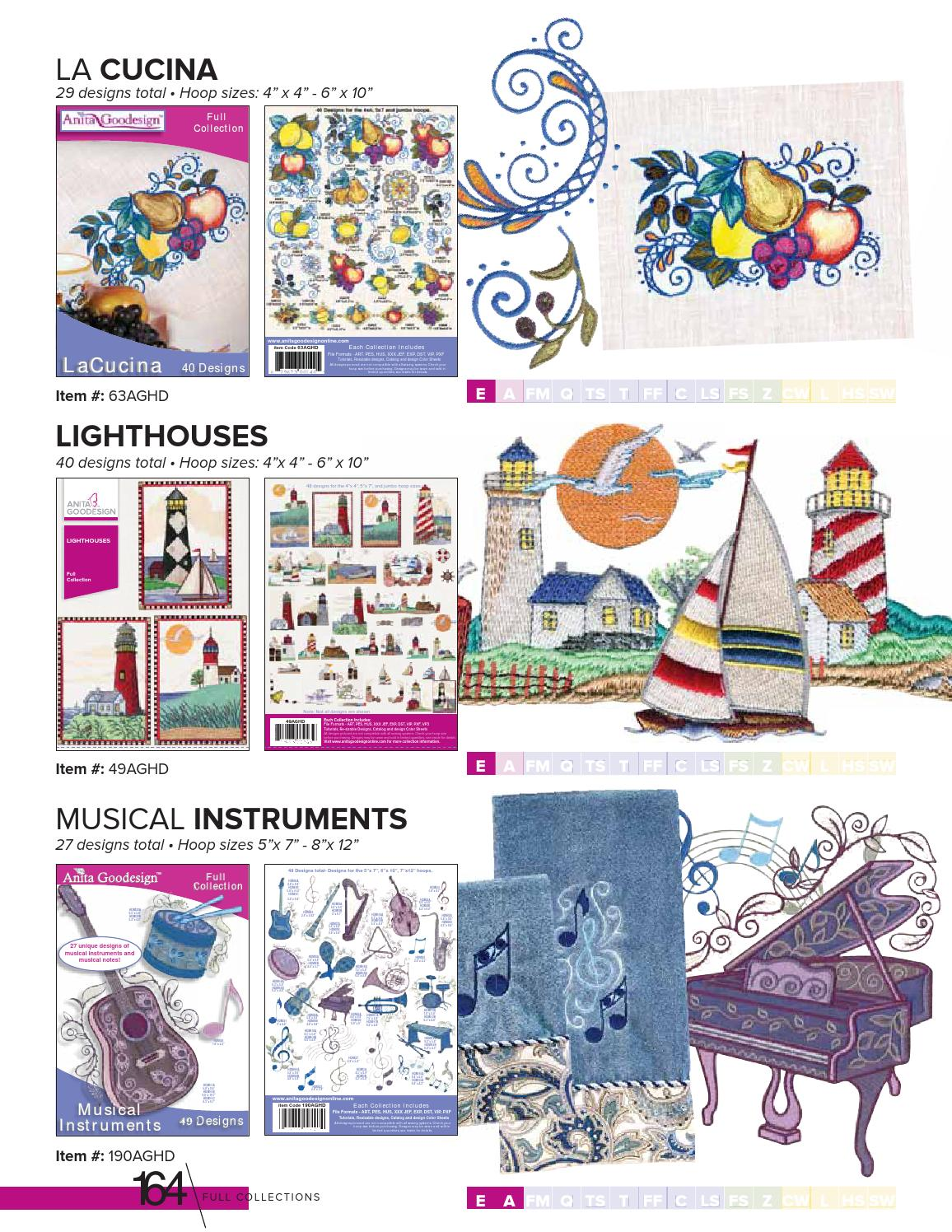 Autumn Sampler Anita Goodesign Embroidery Machine Design CD NEW 128AGHD