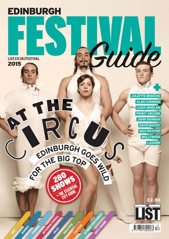 48b7cde9bea802 Edinburgh Festival Guide 2015 by The List Ltd - issuu