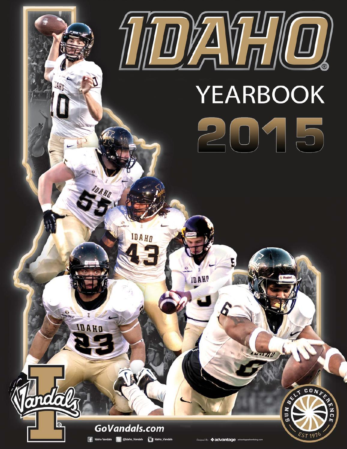 7d3000bd0 2015 University of Idaho Vandal Football Yearbook by Becky Paull - issuu