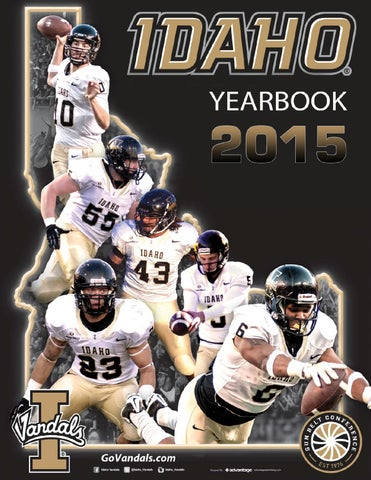 2015 University of Idaho Vandal Football Yearbook by Becky Paull - issuu 112b6a5d9