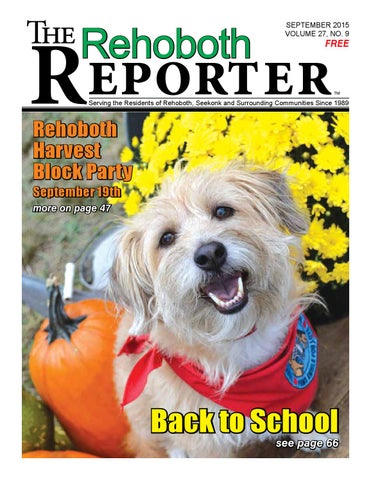 1b6db6d64a51 September 2015 Rehoboth Reporter by Dick Georgia - issuu