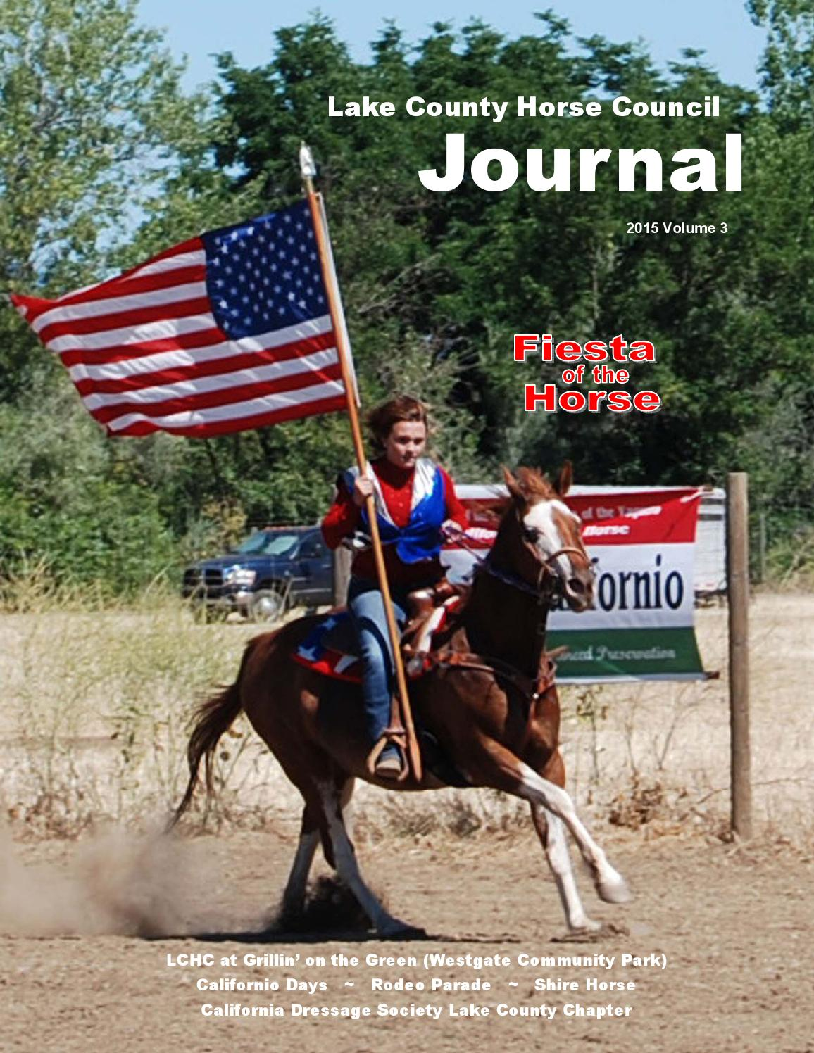Lake County Horse Council Journal 2015 Volume3 Summer By Lake County Horse Council Issuu
