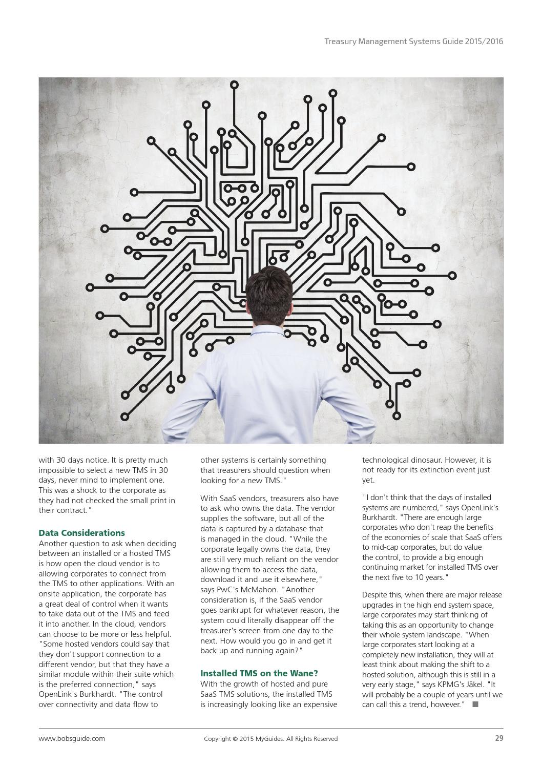 Treasury Management Systems Guide 2015/2016 by bobsguide - issuu
