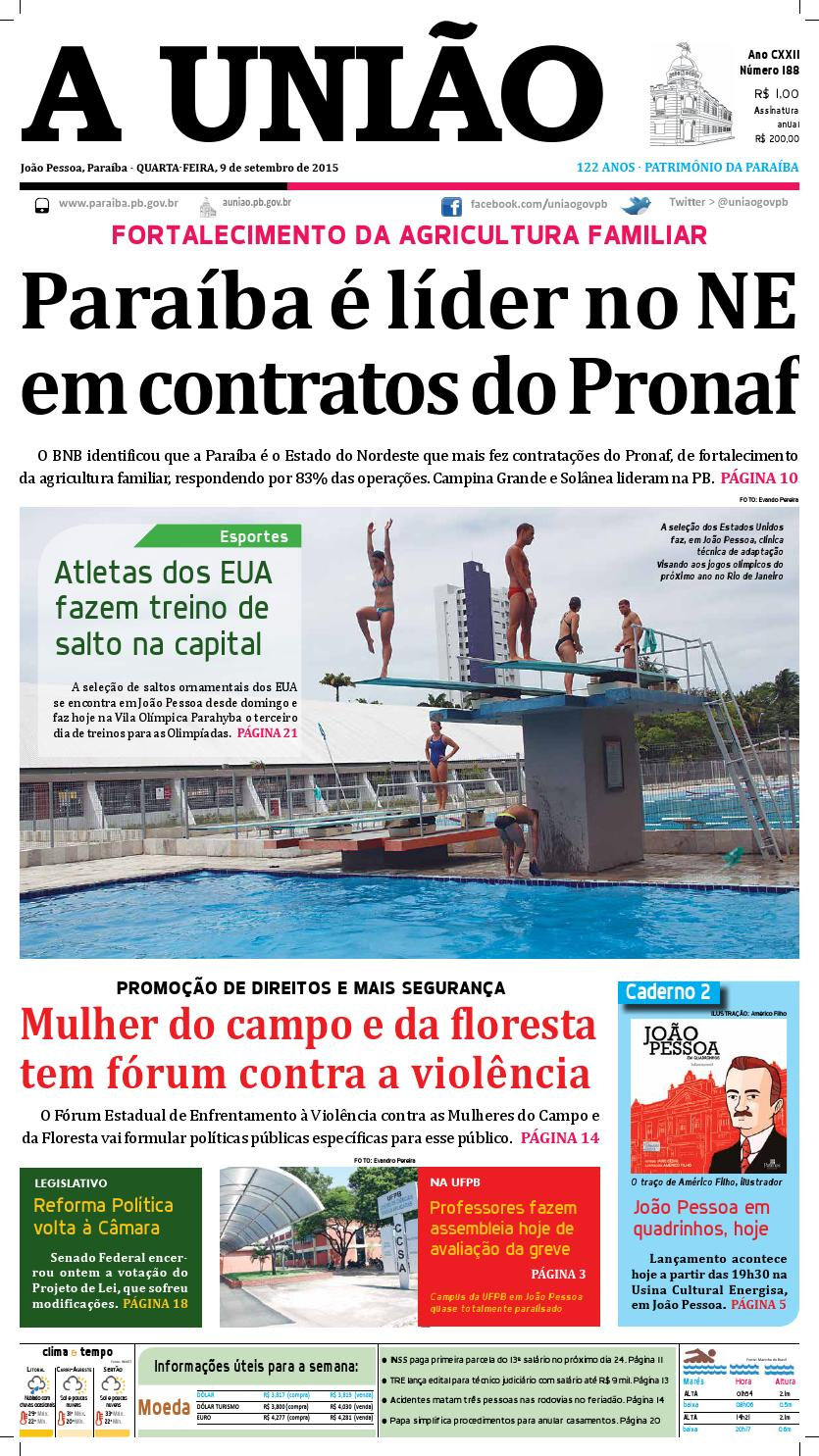 Jornal A União - 09 09 2015 by Jornal A União - issuu 3e81ae0a17587