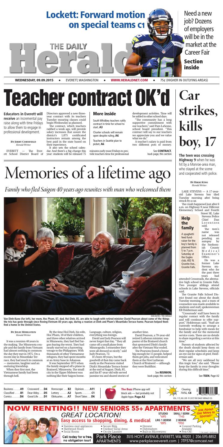 Everett Daily Herald, September 09, 2015 by Sound Publishing - issuu dbd0b05b22a