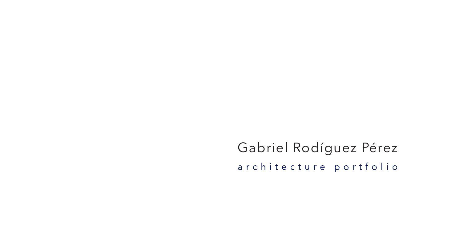 Portfolio arquitectura by gabriel rodr guez p rez issuu - Escuela tecnica superior de arquitectura sevilla ...