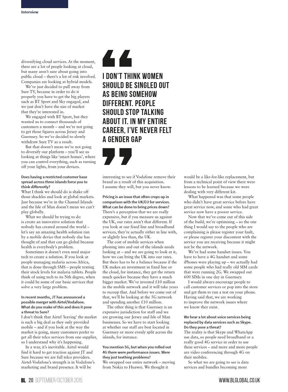 BL Magazine Issue 40 September/October 2015