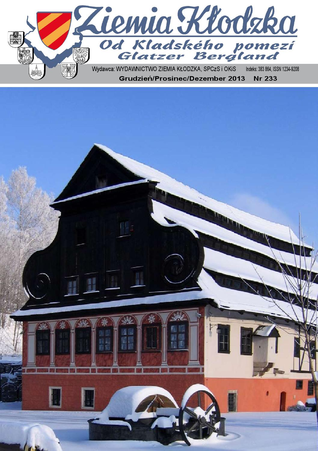 Ziemia Klodzka Nr 233 12 2013 By Ziemia Klodzka Pismo Issuu
