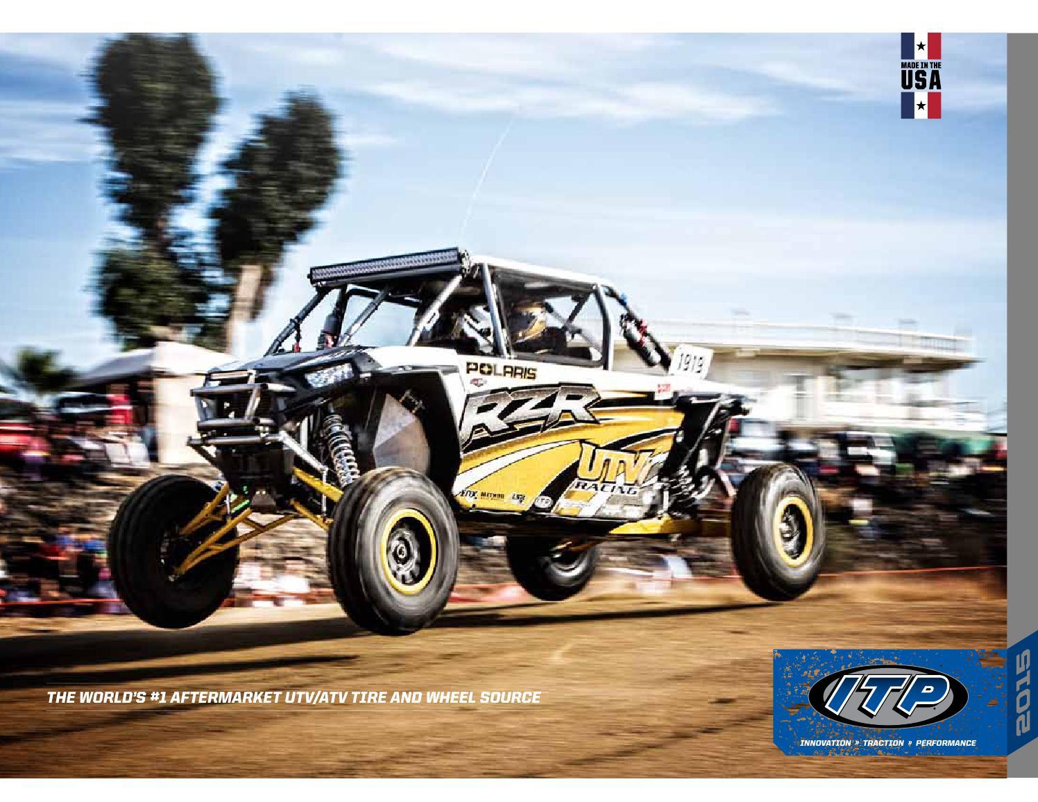4 Full set of ITP Mud Lite XL 27x9-12 and 27x10-12 ATV Tires