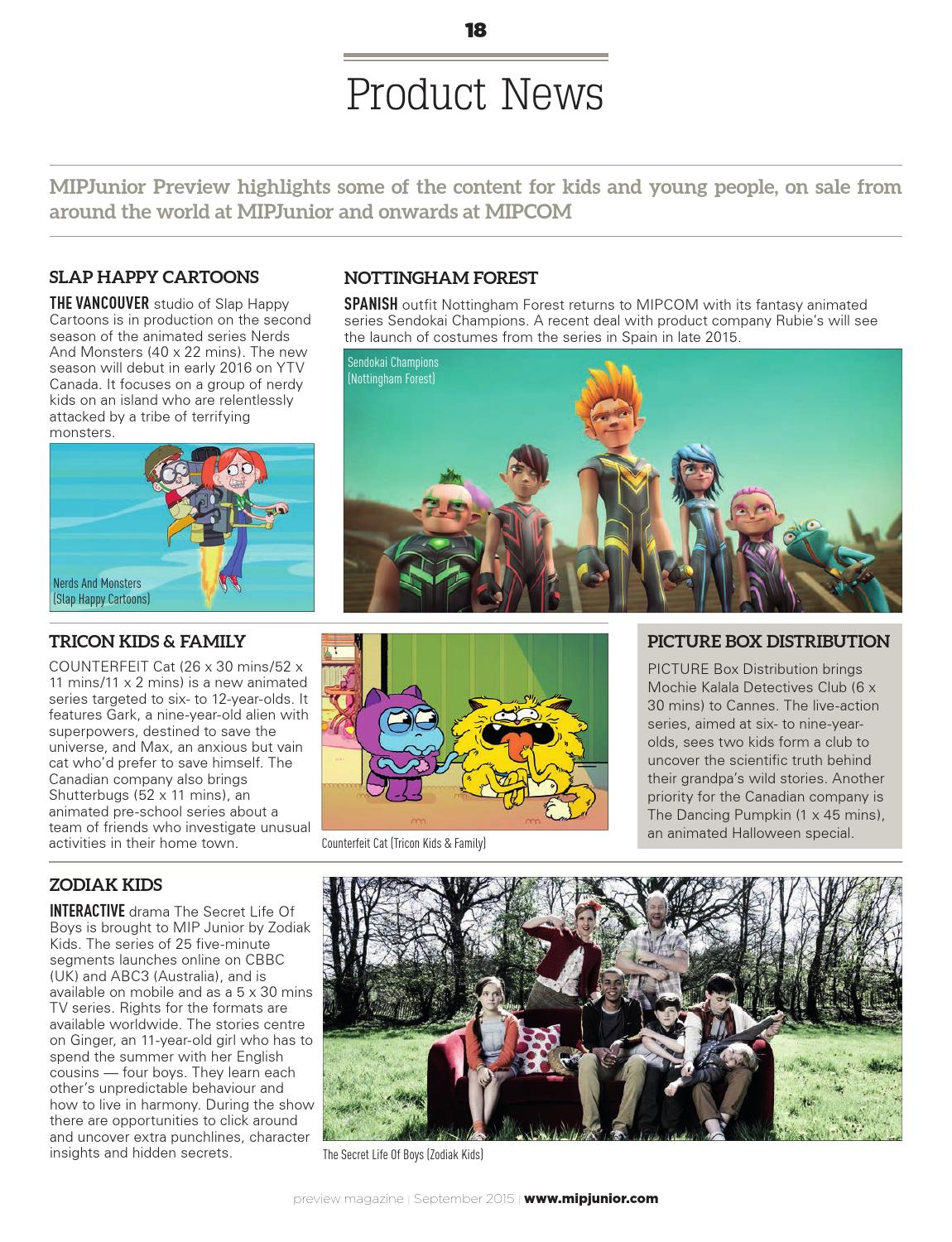 Mipjunior 2015 Preview By Mipmarkets Issuu