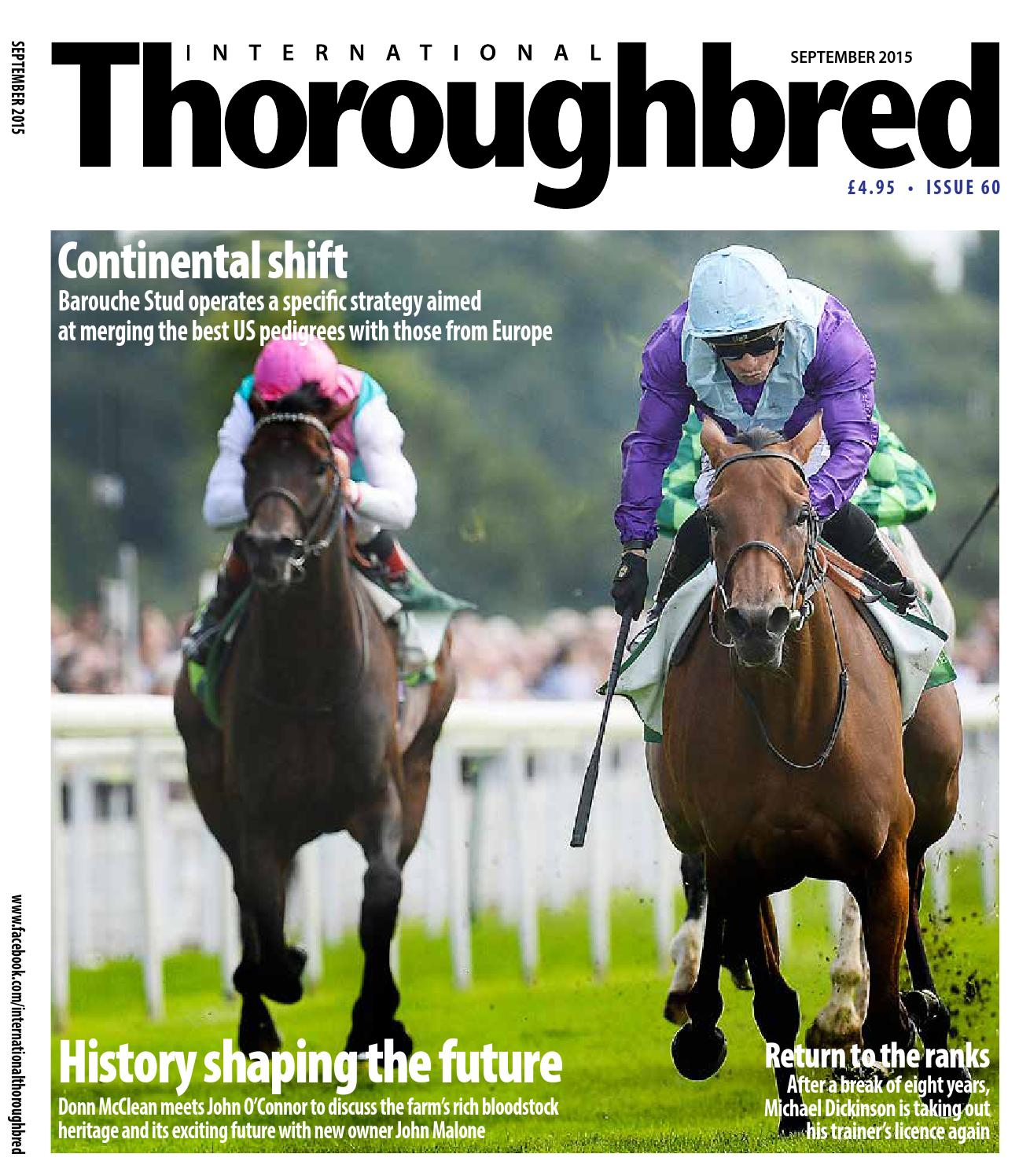 International Thoroughbred May June 2014 by Thoroughbred Publishing