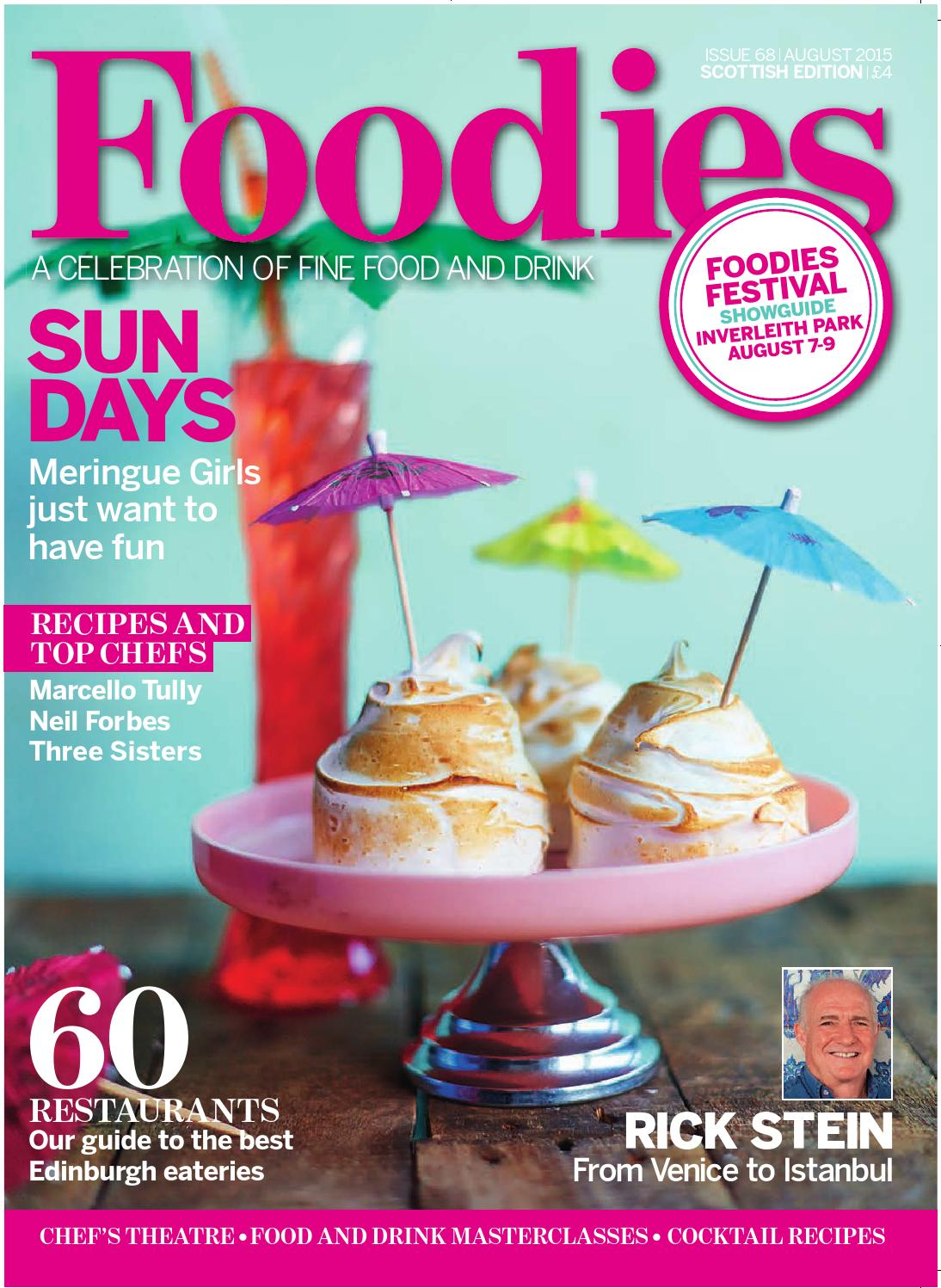 August Issue of Foodies Magazine 2015 by Media Company Publications ...