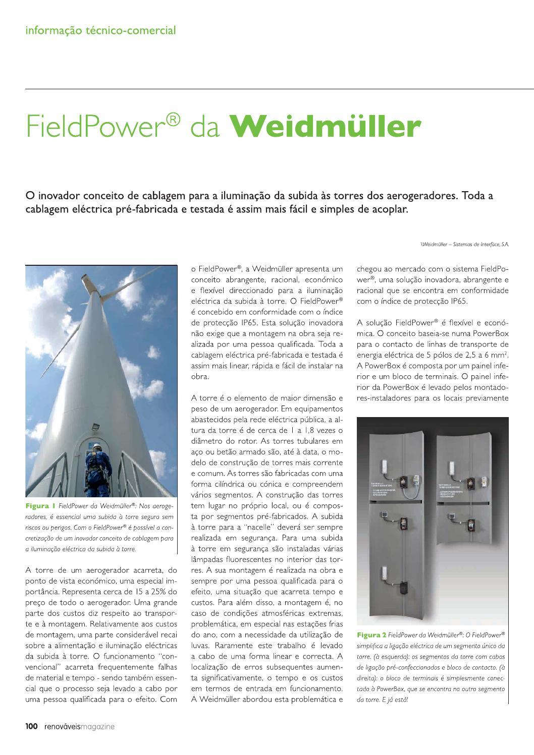 FieldPower da Weidmüller by cie - issuu