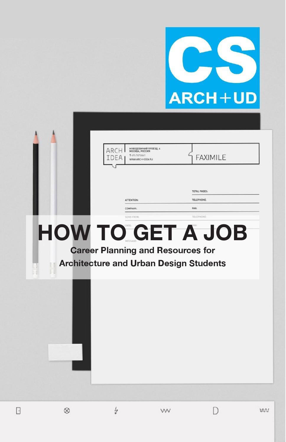 How to Get A Job by Francesca Fanelli - issuu