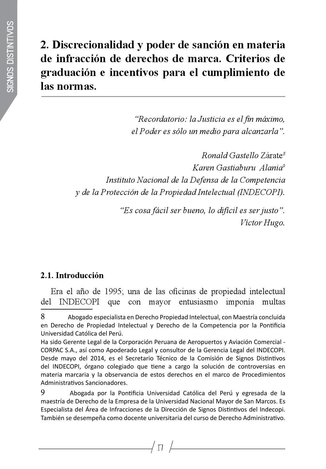 Simposio sobre Régimen de Propiedad Industrial Comunidad Andina by ...