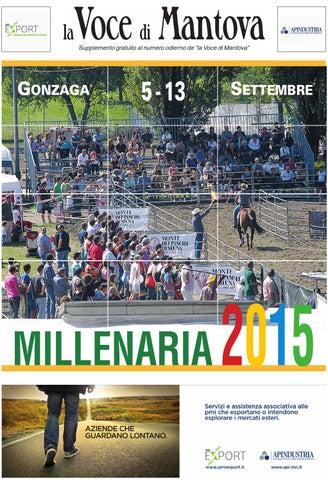 Dalzini Poltrone Relax.Millenaria 2015 By La Voce Di Mantova Issuu