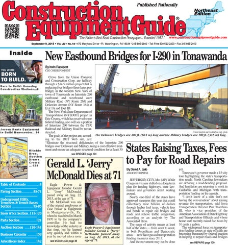 Northeast 18 2015 by Construction Equipment Guide - issuu