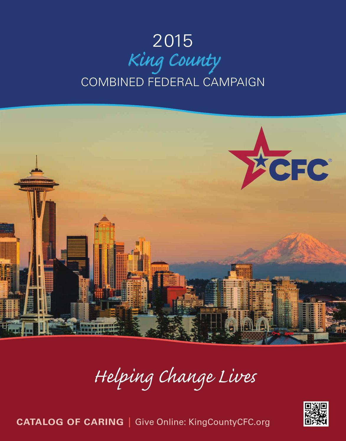 2015 King County CFC Catalog of Caring by Cascadia CFC - issuu