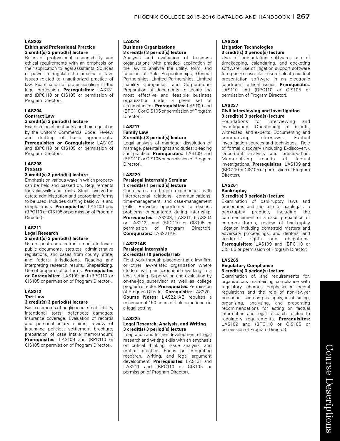 2015-16 Phoenix College Catalog & Handbook by Phoenix College - issuu
